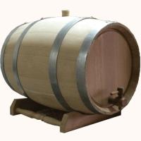 Бочка дубовая 100 литров. Колотый дуб