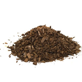 Купить дубовые чипсы ссильный обжиг для выдержки самогона и коньяка 450 гр.