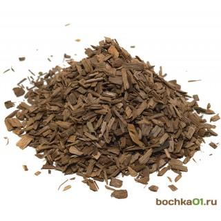 Щепа дубовая (дубовые чипсы) средний обжиг, для выдержки самогона, вина, коньяка  20 кг.
