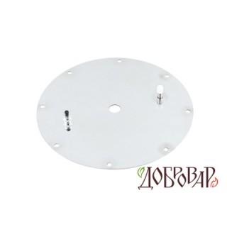 Крышка под 8 шпилек, отверстие для гидрозатвора (14 мм)