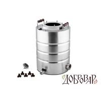 "Куб 17 л, ТЭН-Р-версия (1¼""), 5 шпилек (без крышки)"