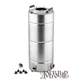 "Куб 35 л, ТЭН-Р-версия (1¼""), 5 шпилек (без крышки)"