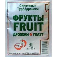 "Дрожжи спиртовые ""Turbo Fruit"", 60 гр"