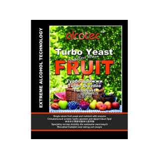 Спиртовые турбо дрожжи ALCOTEC FRUIT TURBO, 60 Г