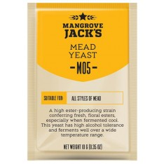 Дрожжи для медовухи ДРОЖЖИ MANGROVE JACK'S MEAD M05