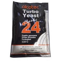 Спиртовые дрожжи  ALCOTEC 24 TURBO, 175 Г