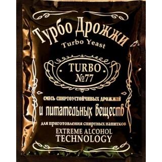 Турбо дрожжи TURBO №77 120 гр.