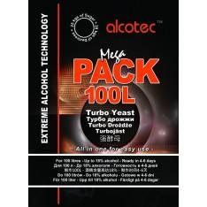 Турбо дрожжи ALCOTEC MegaPack Turbo на 100 литров