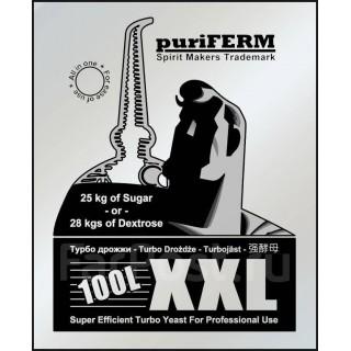 Турбо дрожжи спиртовые Puriferm UK-XXL на 100 л.