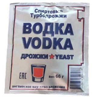 """Турбо дрожжи """"Водка турбо"""" 66 гр."""