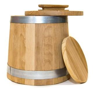 Кадка дубовая для солений 6 литров