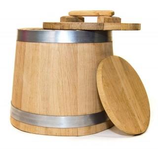 Кадка дубовая для солений 12 литров