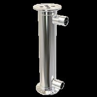 Дефлегматор кожухотрубный 1.5 дюйма 200 мм.