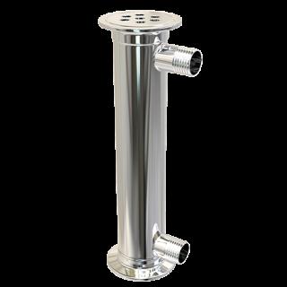 Дефлегматор кожухотрубный 2 дюйма 200 мм.