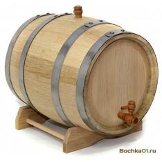 Бочка из колотого дуба 20 литров