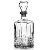 Графин стеклянный для самогона, вина,коньяка 500 мл.
