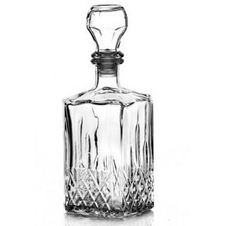 Купить графин стеклянный для самогона, вина,коньяка 500 мл.
