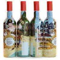 """Бутылка """"Домашний ром"""" 1 литр с пробкой"""