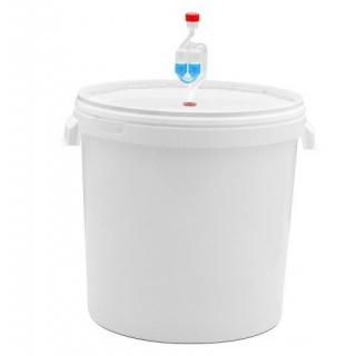 Емкость для брожения 26 литров с гидрозатвором.