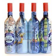 """Бутылка """"Домашняя водка"""" 1 литр с пробкой"""