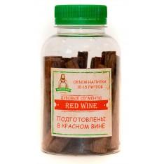Дубовые палочки для самогона «Красное вино» 60 гр.