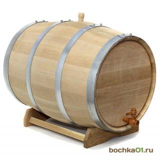 """Бочка из колотого дуба 50 литров """"Стандарт"""""""