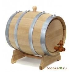"""Бочка из колотого дуба 10 литров """"Стандарт"""""""