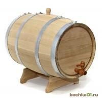 """Бочка дубовая """"Стандарт"""" 20 литров"""
