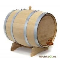 Бочка дубовая 30 литров. Колотый дуб