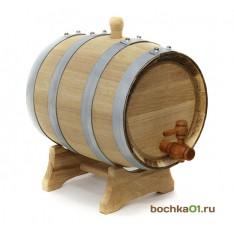 """Бочка дубовая """"Стандарт"""" 5 литров"""