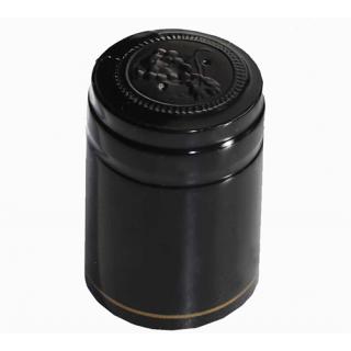 Термоколпачки черные 100 шт.